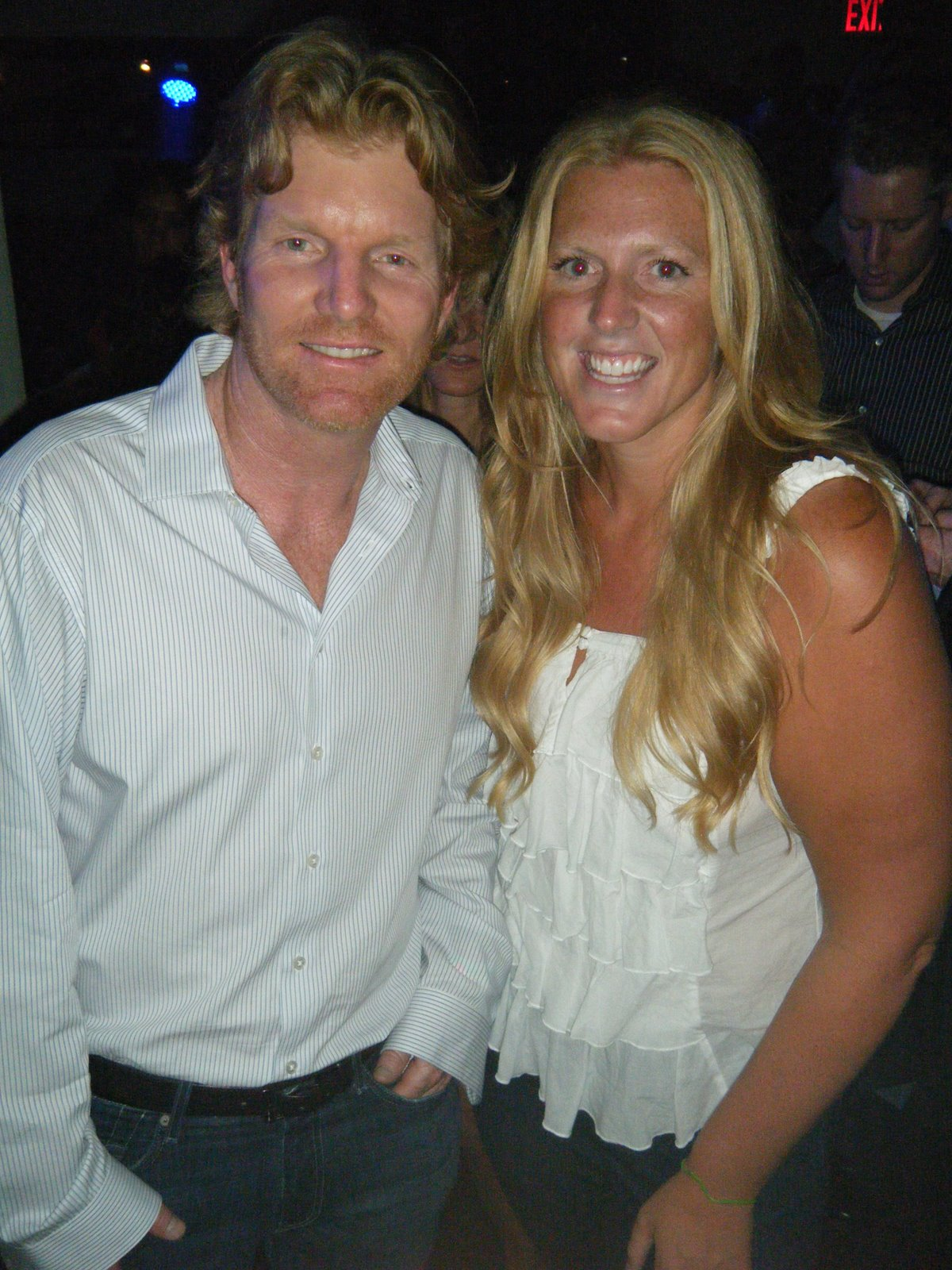 Blonde Rules KW and Jim Courier