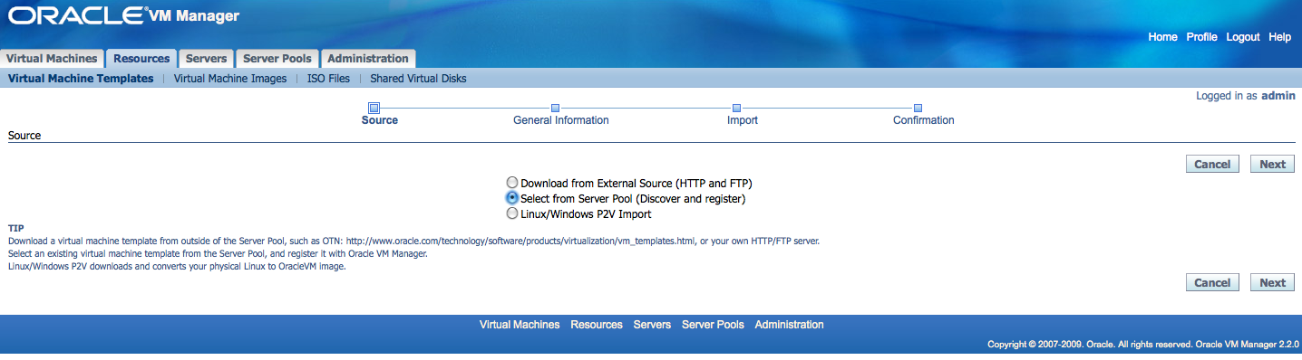 Johan louwers tech blog oracle vm import template for Download oracle vm templates