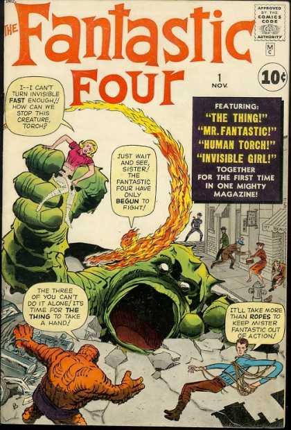 Fantastic Four N° 600 1-1