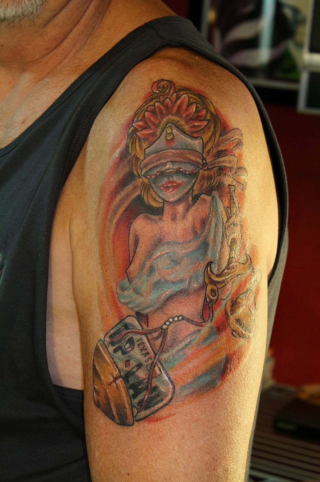 No surrender studios becoming art lady liberty and for Merlion tattoo images