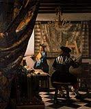 Vermeer, L'art de la pintura