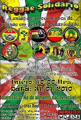 Movimentos de reggae de Belém e Ananindeua realizam reggae solidário Reggae+solidario+10