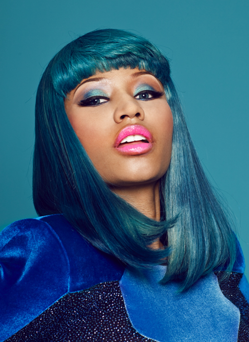Nicki Minaj XXL Mag Spread January 2011 Makeup Look