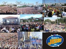 a maior march for Jesus de todos os tempos