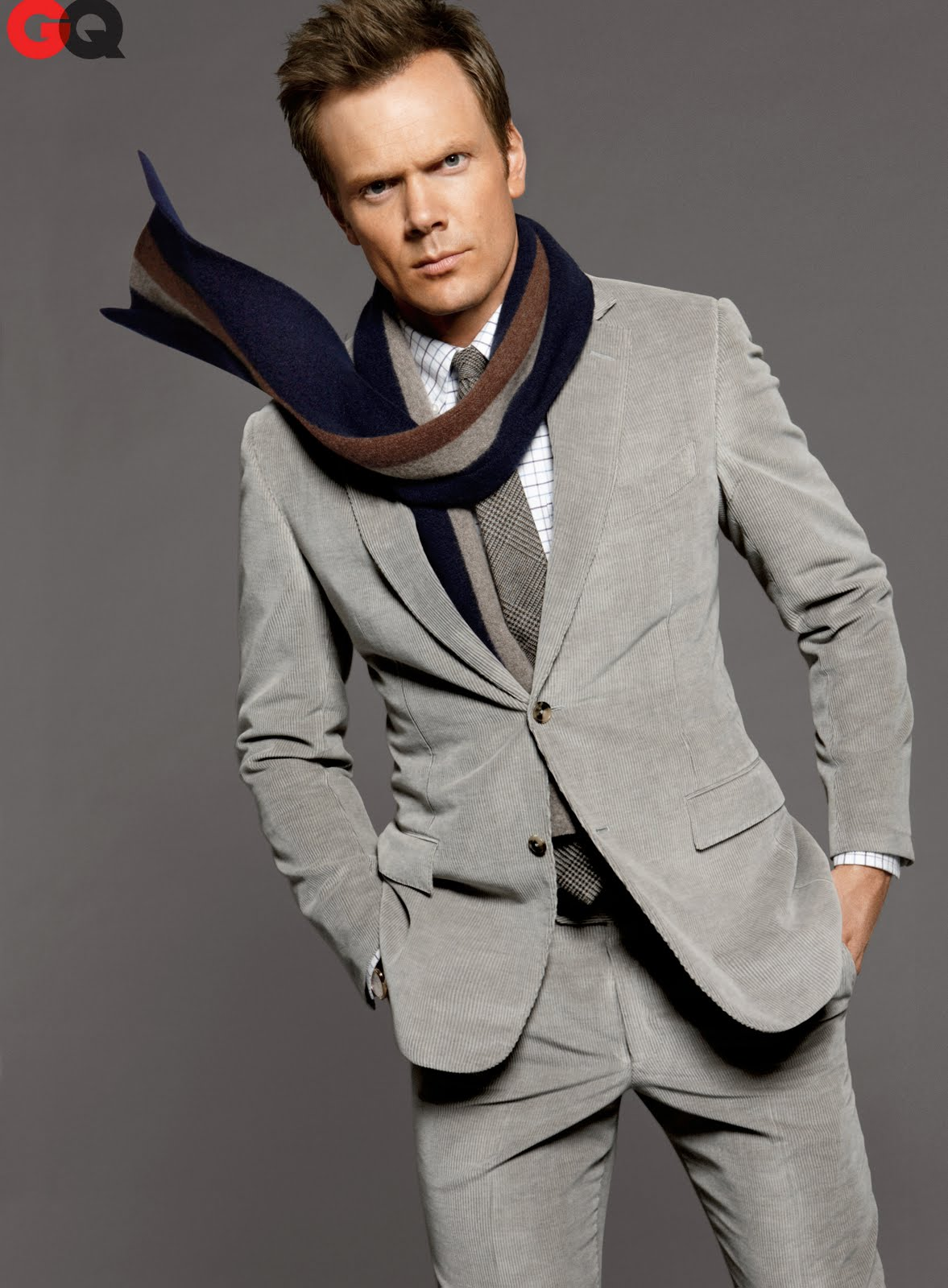 GQ November Joel McHale ... that the actor will either be a discovery or on TV but likely someone ...