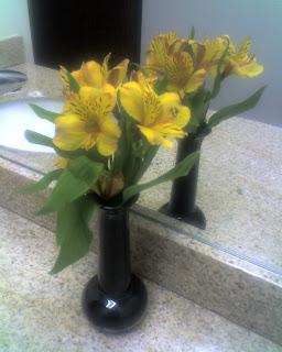 Restroom Flowers
