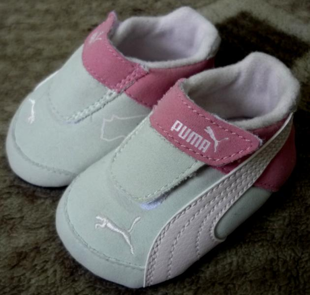 Nurin's Great Collections: GENUINE PUMA SHOES FOR NEWBORN ...