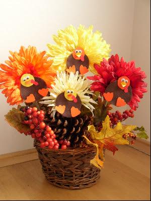 My creative way thanksgiving centerpiece ideas for Easy thanksgiving centerpiece crafts