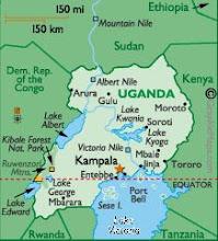 Uganda Map: