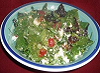 Chèvre and medjool salad