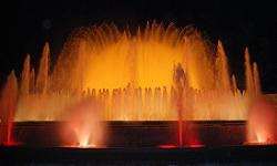 Montjuic fountains, Barcelona