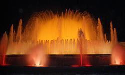 Montjuic fountains, Barcelona