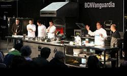 Ferran Adrià and other top chefs at Alimentaria