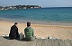 Taking a break on the Costa Brava with friends