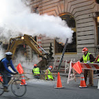 St. Regis Steam 4 - Outside the St. Regis on 55th St., off 5th Ave.