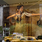 Sacagawea in the City - In a Night at the Museum (Smithsonian) display at Lowes Lincoln Square on Broadway a while ago.