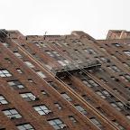 London Terrace Blasting - Sandblasting bricks on the 24th St. side of the London Terrace complex in Chelsea.