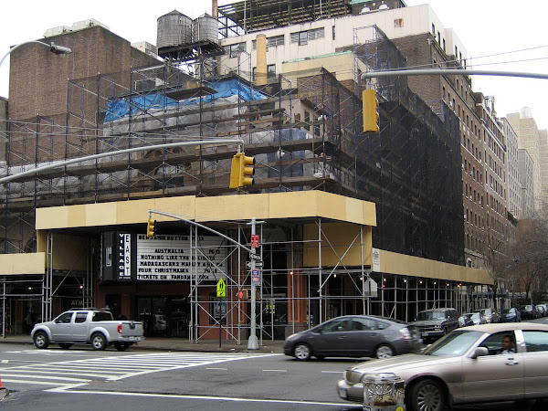 Busy Corner - During renovations at the Village East Theater on 2nd Ave. at 12th St.