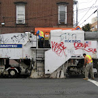 Roadtec RX900 - Ripping pavement, off McGuinness in Greenpoint.