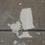 Frankenstein Blow Drier - Frankenstein's monster blow-drys his hair on the sidewalk in Greenpoint.