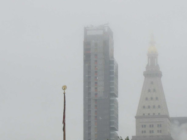 Empire State Fog - The Empire State Building, invisible on the left, from Union Square.