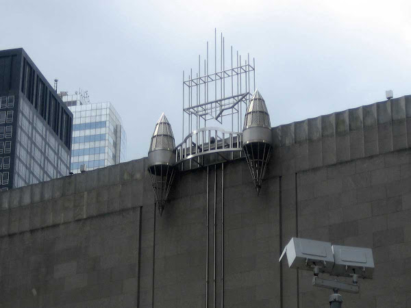 Above Battery Tunnel - At the Manhattan end.