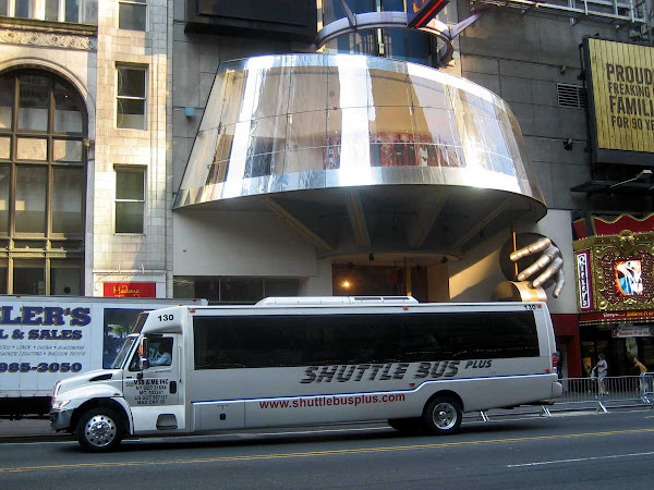 Space Shuttle - On 42nd St. off Broadway.