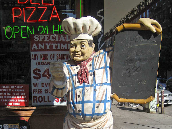 Wooden Pizza Chef - At Ave. B & 4th St.