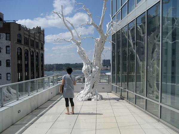 Ghost Tree - A while ago at the Flag Foundation in Chelsea.