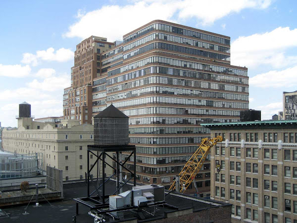 Starrett-Lehigh Building - From the Flag Foundation on 25th St. in Chelsea.