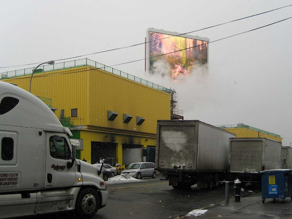 Arctic Drive-in - Above Fresh Direct on Borden Ave. in Long Island City.