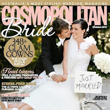 i'm featured in Cosmo Brides magazine