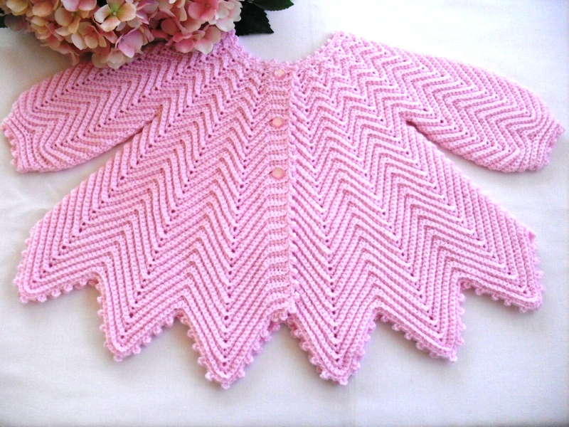 Crochet Baby Pattern Cardigan : Crochet Baby Jacket Pattern ? Catalog of Patterns