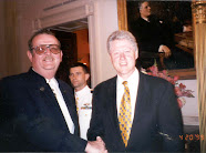 Elmar with President Clinton