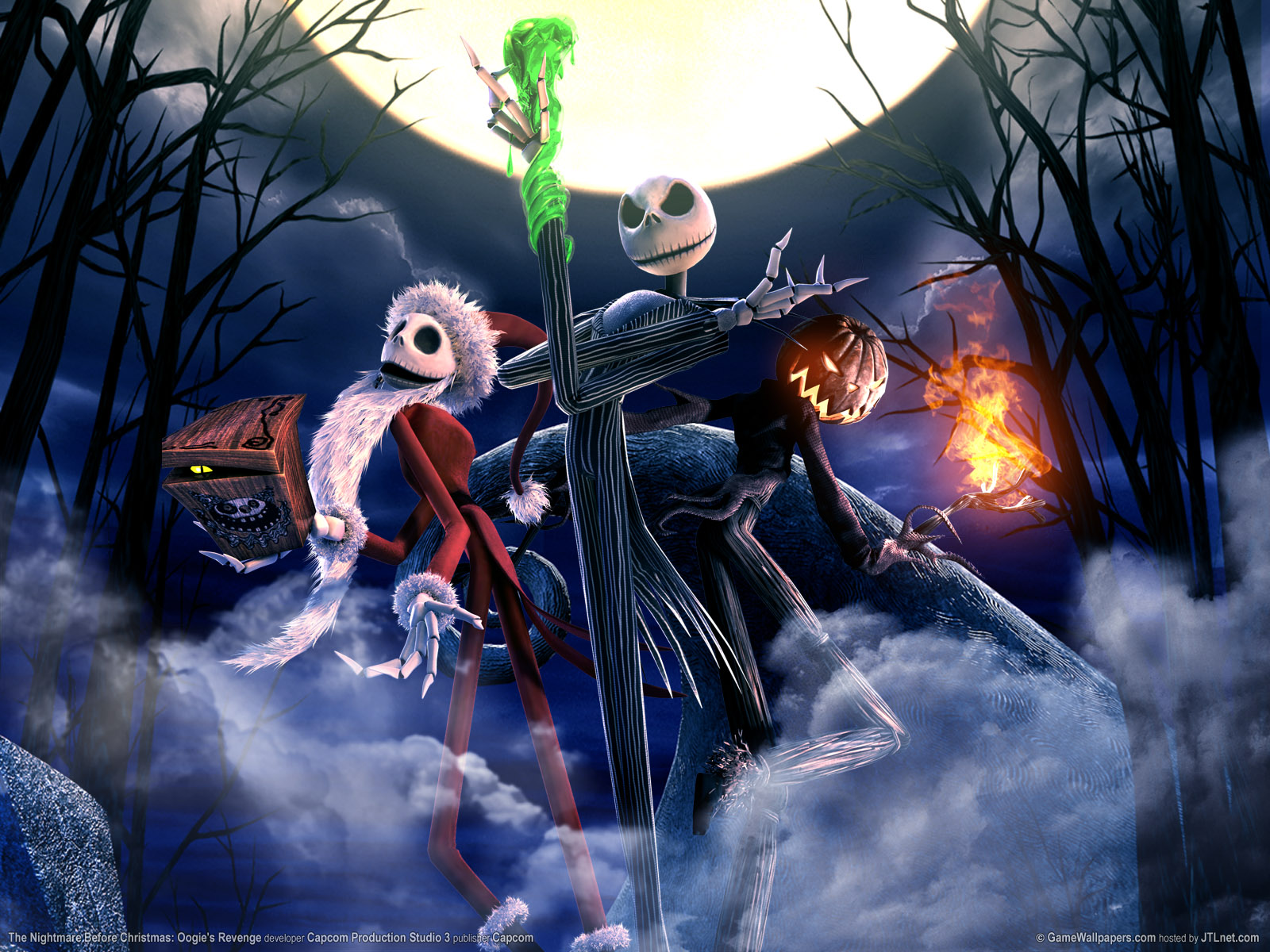 GAME]The Nightmare Before Christmas: Oogie's Revenge