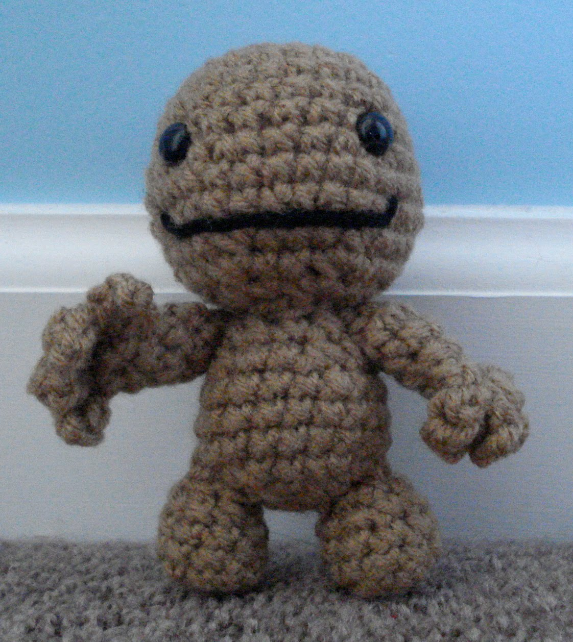 Darknailbunny amigurumi sackboy i think i got this from moonbuns blog but im not completely sure there arent many crochet sackboy patterns online so it should be no problem dt1010fo