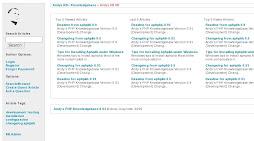 Aphpkb Main Page Screenshot