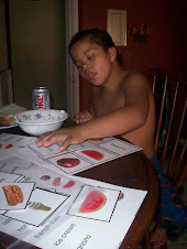 Jordan doing sight words