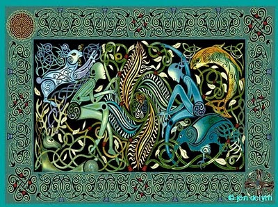 a faerietale of inspiration  jen delyth        celtic art