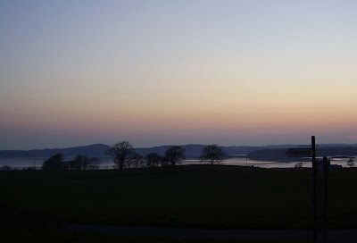 sunset at mutehill, kirkcudbright, scotland