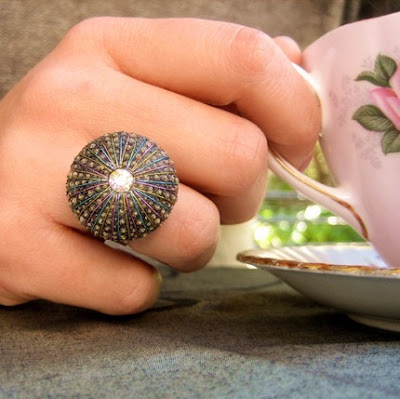 sea urchin ring from star of the east