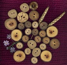wooden wonders . . .buttons
