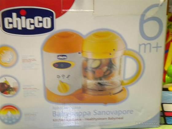 Vendo accessori e elementi per l 39 infanzia - Chicco robot da cucina cuocipappa sanovapore ...