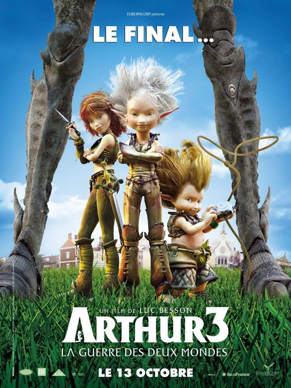 Arthur 3 2010 Release0 Customized DVD Tuesday, January 18, 2011