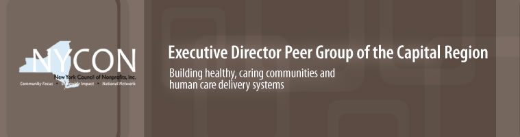 Executive Director Peer Group of the Capital Region