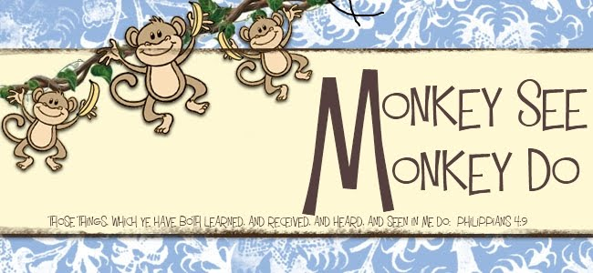 monkey see monkey do a baby shower devotional, Baby shower