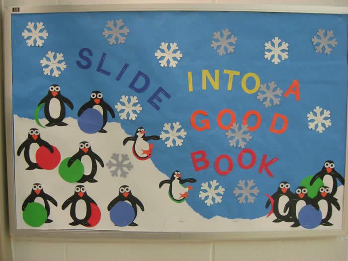 Bulletin board ideas for winter for preschool 7