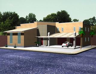 Diarqcomsa imagenes renderizadas for Proyecto casa habitacion minimalista