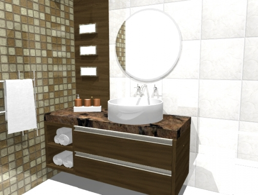 Móveis Planejados Banheiro -> Banheiros Planejados Sca