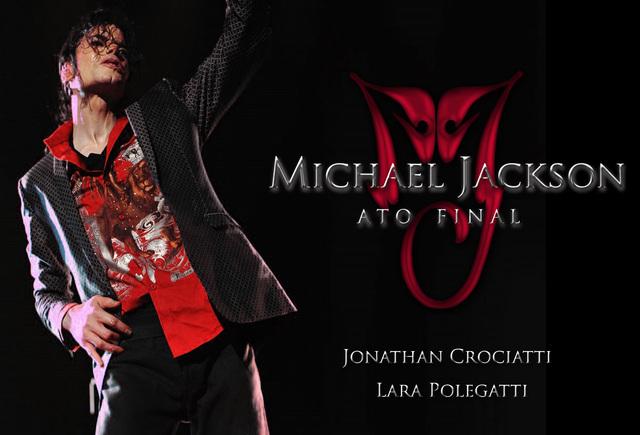 """""""Michael Jackson - Ato Final"""" por Jonathan Crociatti    Capalivroatofinal"""